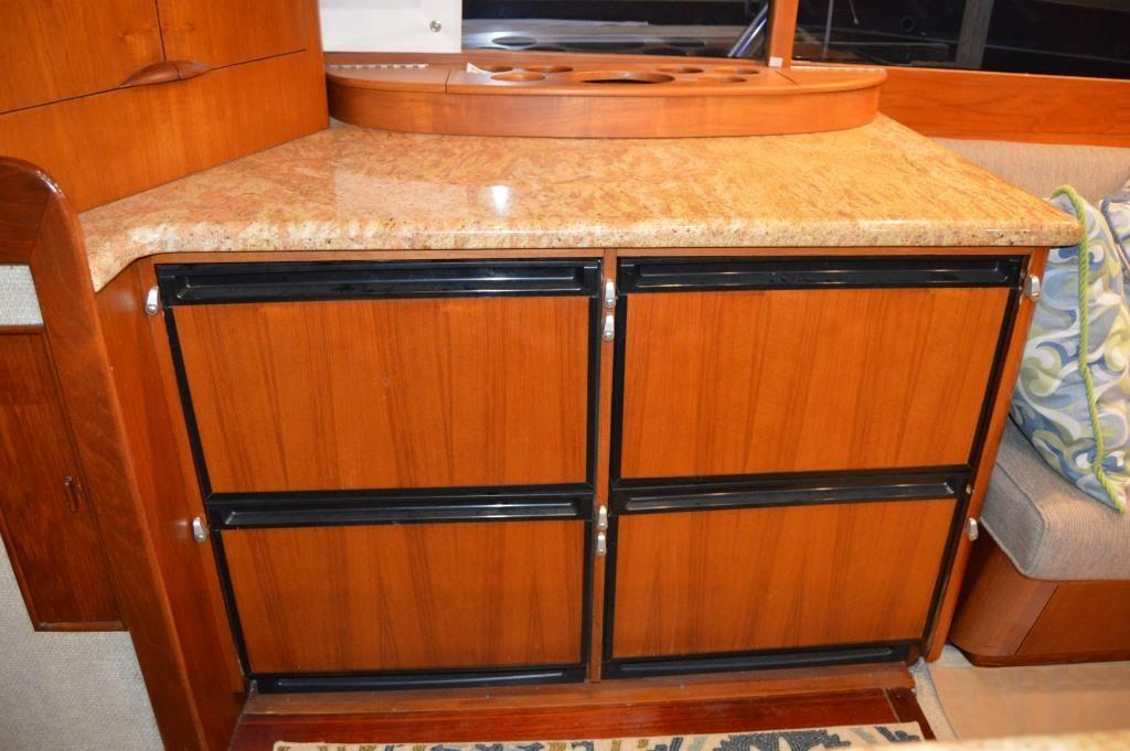 Galley Sub-Zero style refrigeration drawers