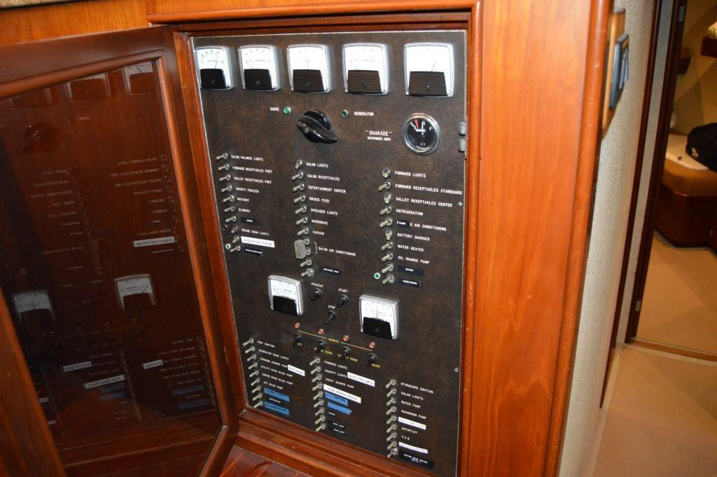 Recessed Main Electrical Panel in Galley