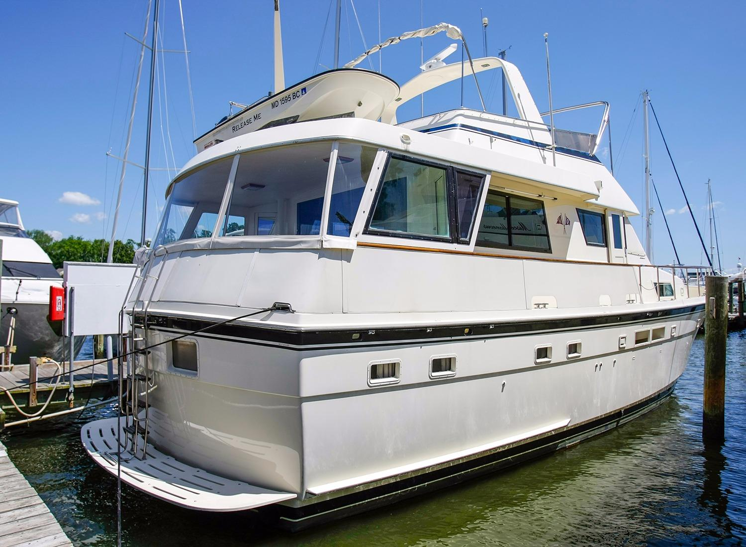 1987 hatteras motoryacht for sale for 50 ft motor yachts for sale