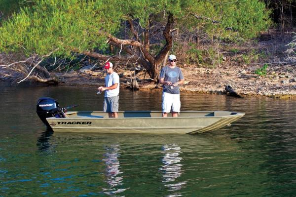 For sale new 2012 tracker boats grizzly 1648 jon boat in for Jon boat bass fishing