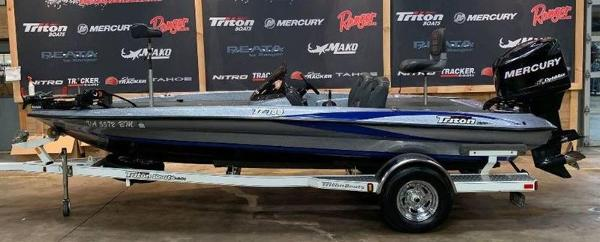 2008 Triton boat for sale, model of the boat is TR-186 & Image # 1 of 10