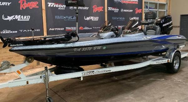 2008 Triton boat for sale, model of the boat is TR-186 & Image # 2 of 10