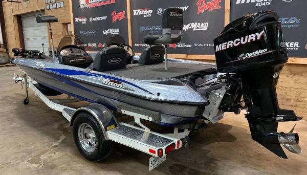 2008 Triton boat for sale, model of the boat is TR-186 & Image # 10 of 10