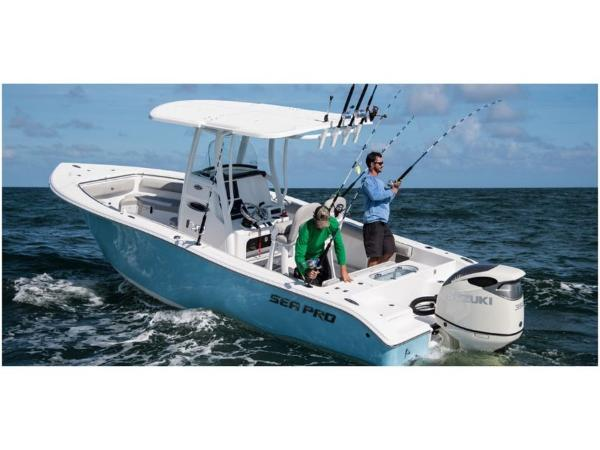 2020 Sea Pro boat for sale, model of the boat is 239 CC DLX & Image # 3 of 10