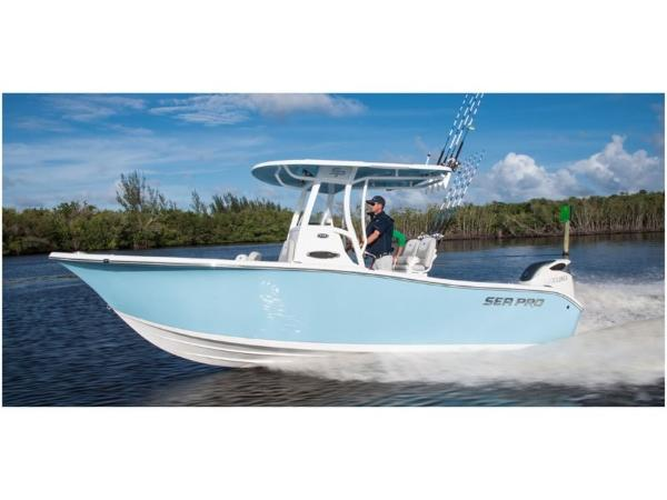 2020 Sea Pro boat for sale, model of the boat is 239 CC DLX & Image # 6 of 10