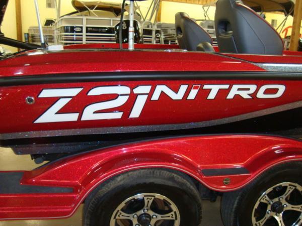 2020 Nitro boat for sale, model of the boat is Z21 & Image # 23 of 23