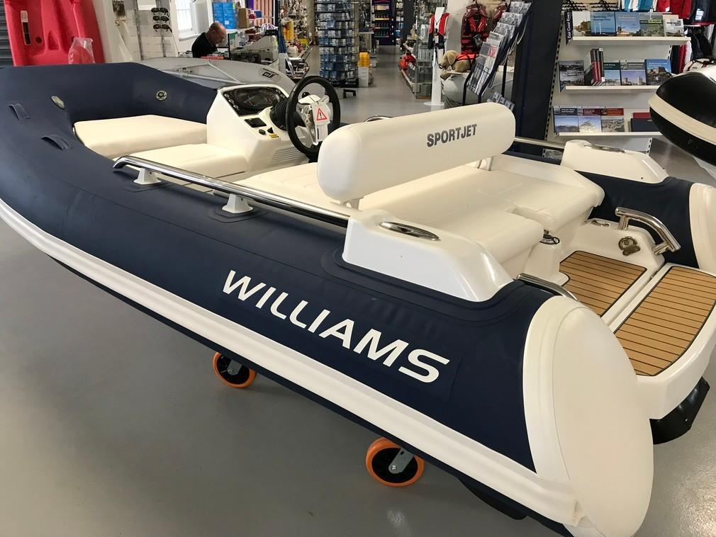 Williams Jet Tenders Sportjet 345