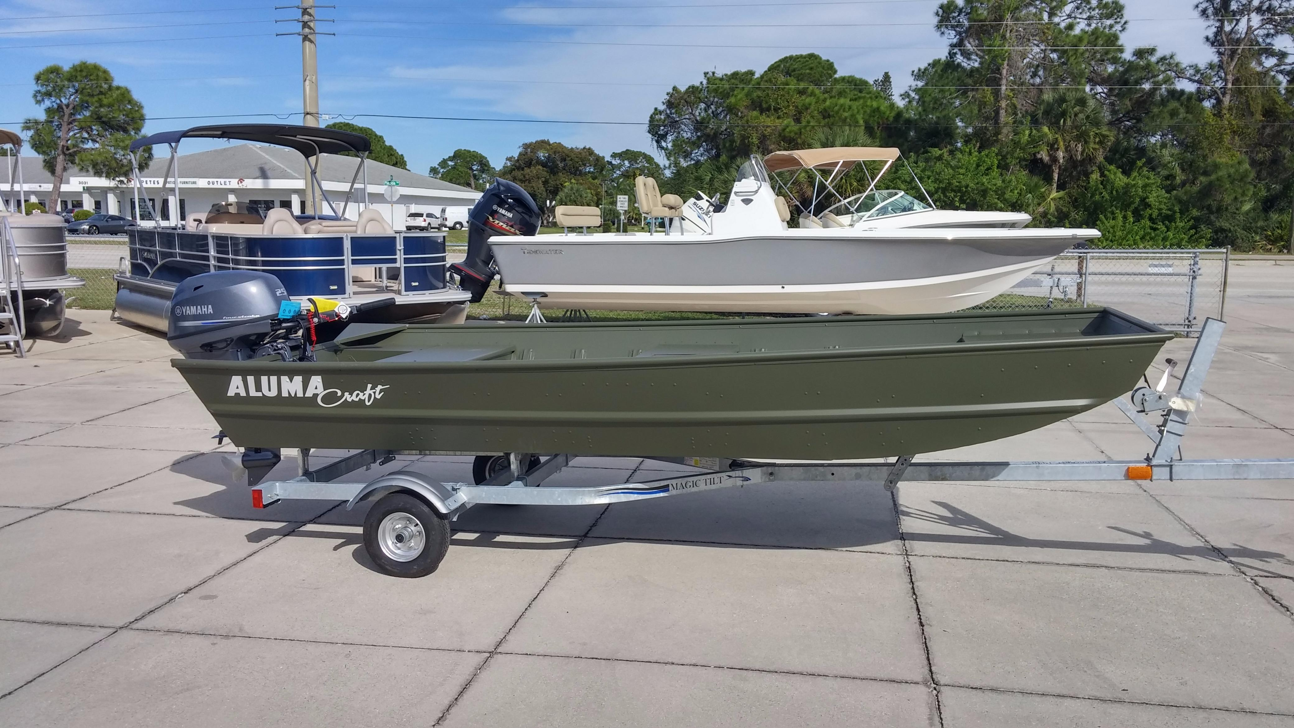 Mccall marine sales brokerage inventory for 14 ft fishing boat