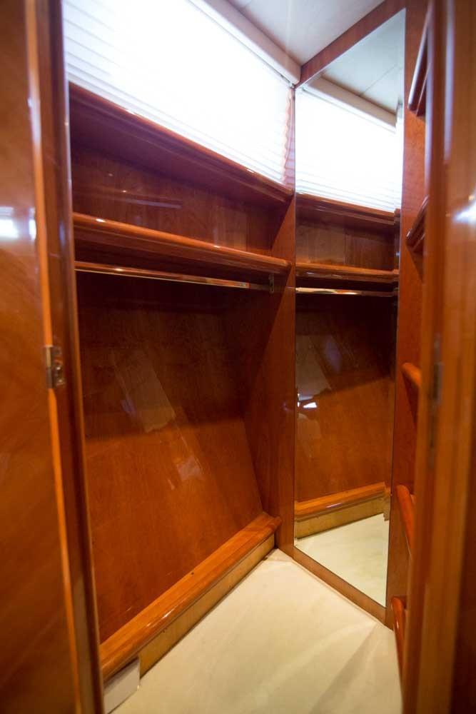 VIP Stateroom Closet
