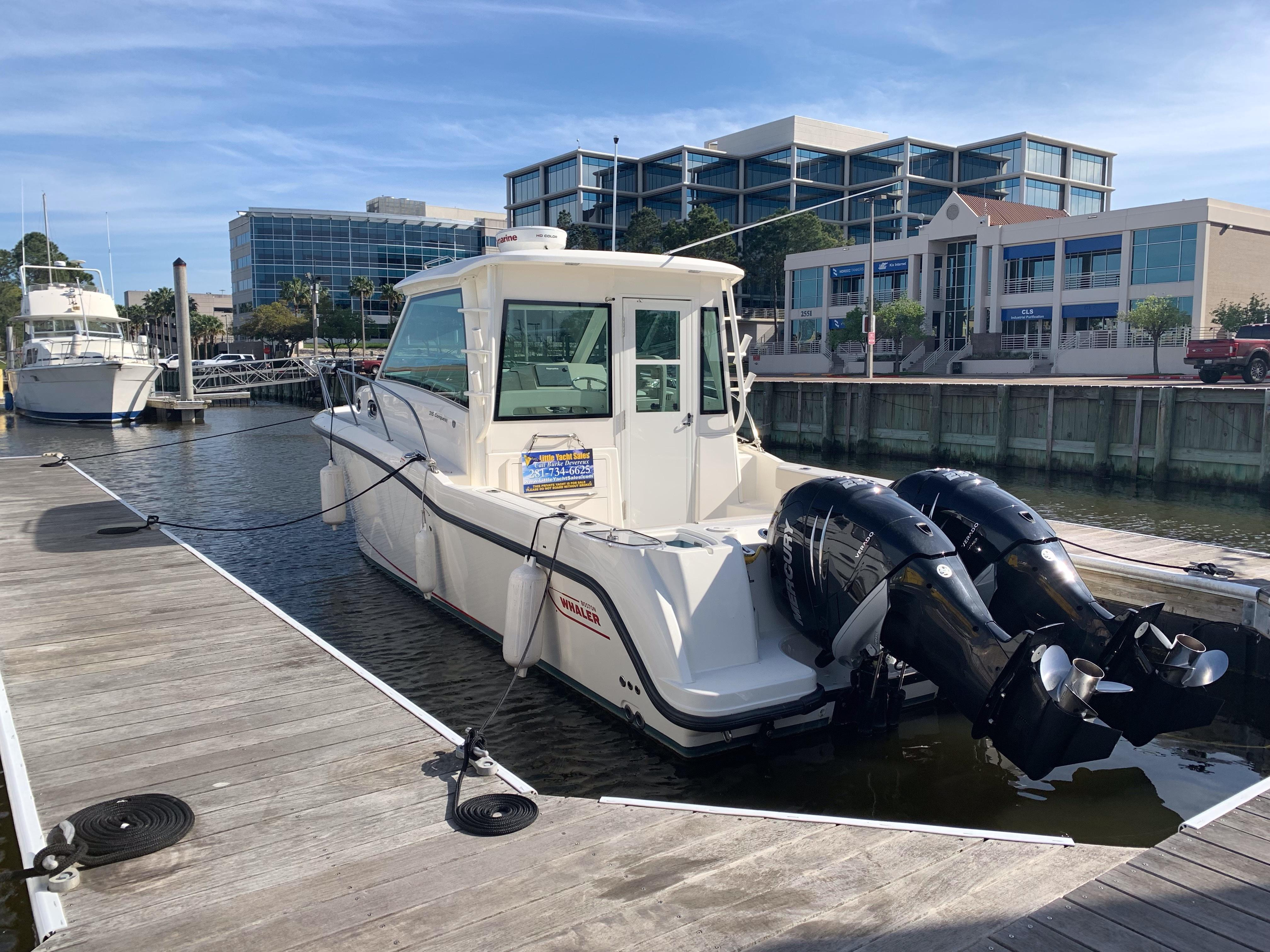 2018 Boston Whaler 315 Conquest Pilothouse – Little Yacht Sales