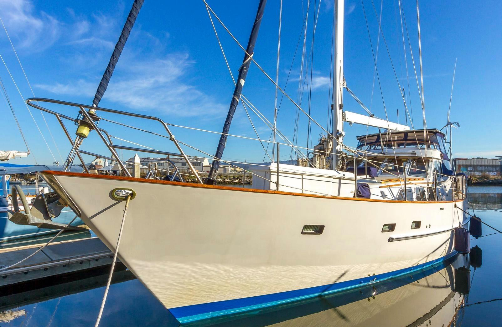 53 Cheoy Lee Motor Sailer Yacht For Sale Rubicon Yachts