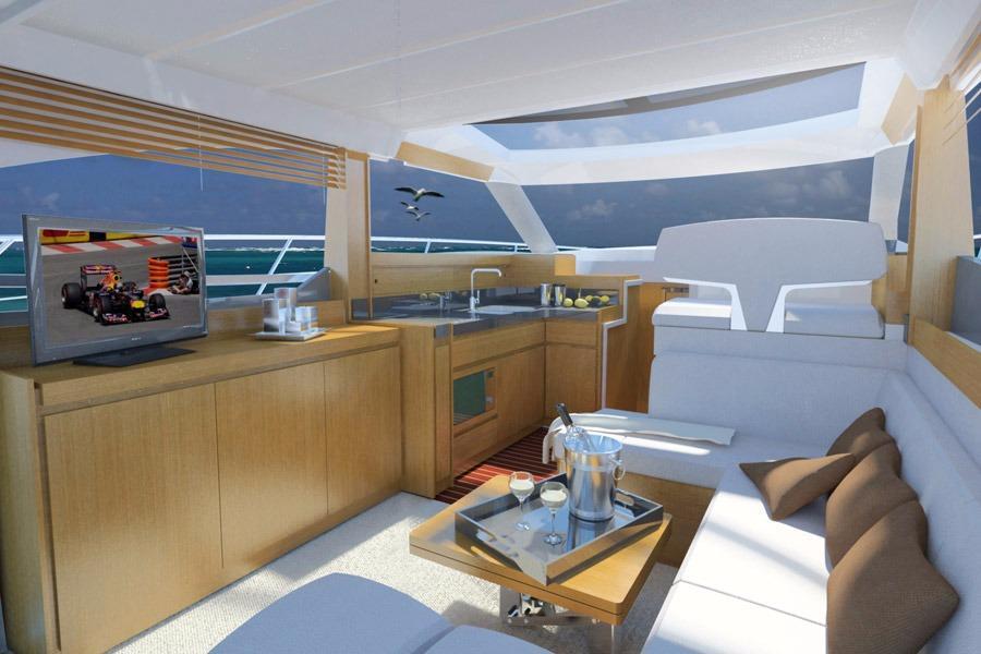 Manufacturer Provided Image: Bavaria Virtess 420 Fly Interior