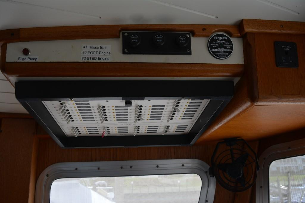 Cherubini Independence - Overhead AC/DC Panels