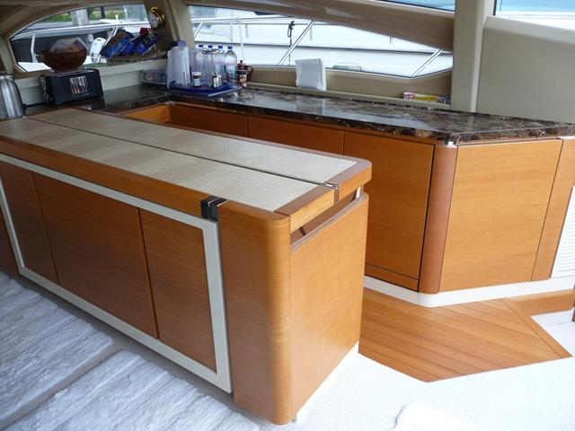 Galley Island Counter