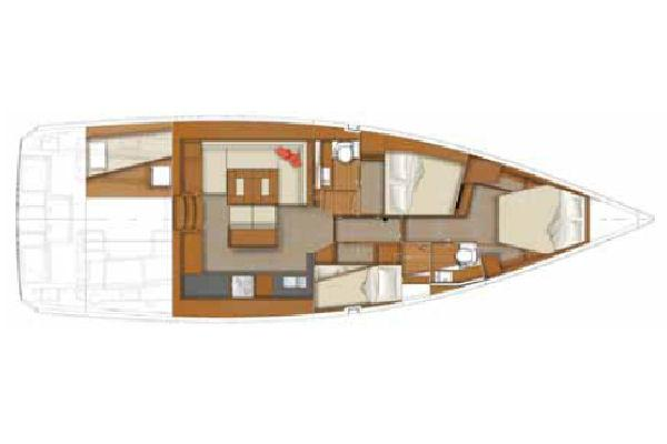 Manufacturer Provided Image: 3 Cabin Layout