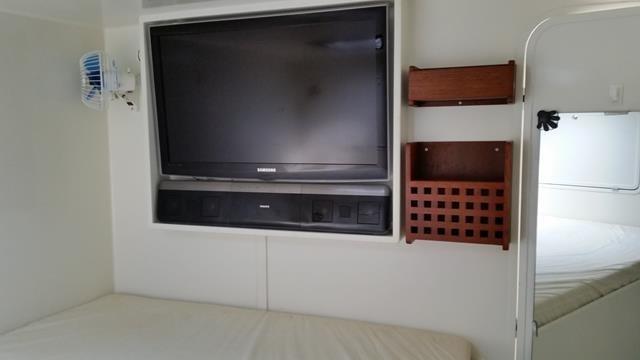 Precision Shipwrights Cabin with TV