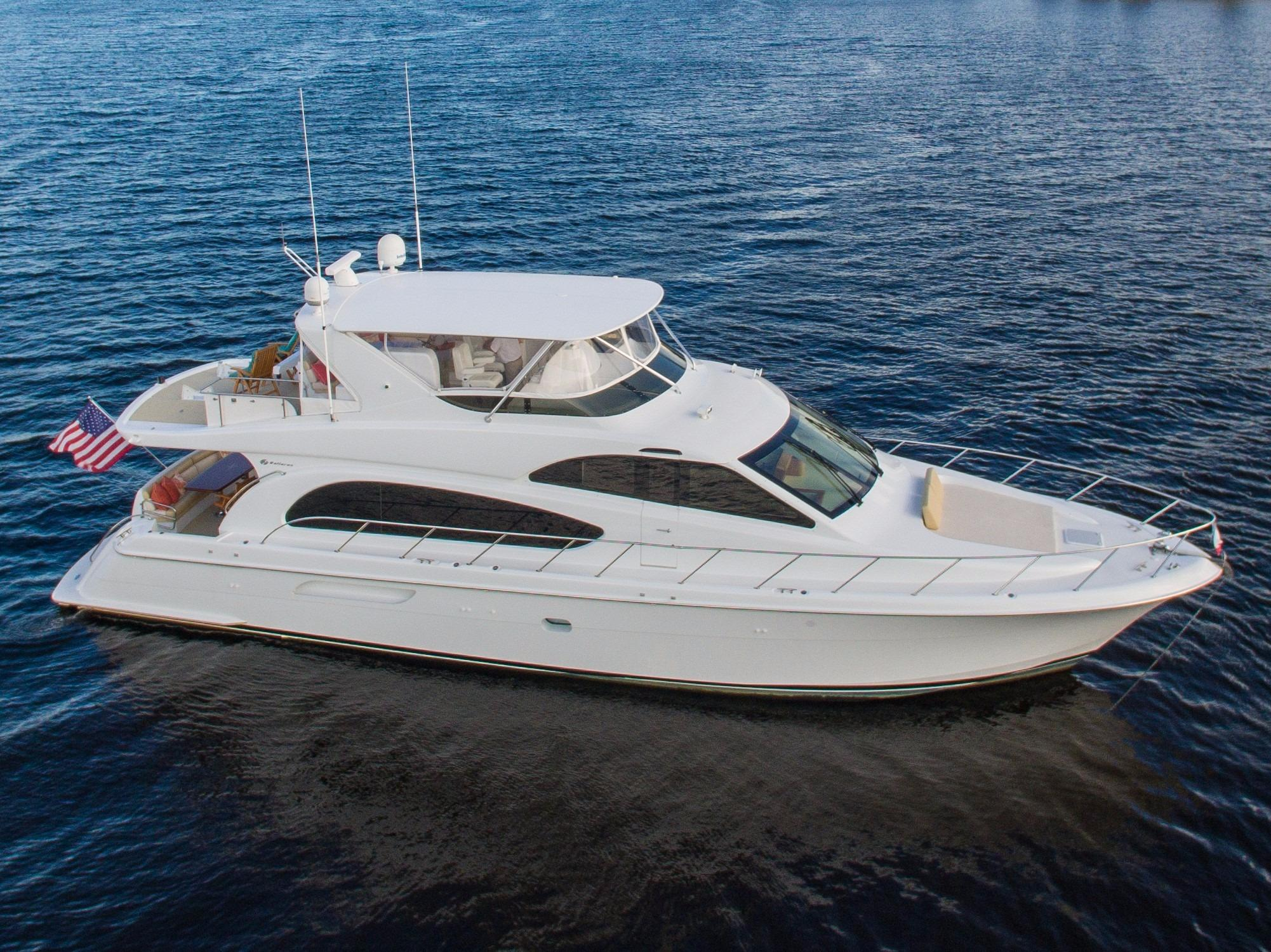 Used hatteras yachts for sale from 60 to 70 feet for Hatteras motor yacht for sale