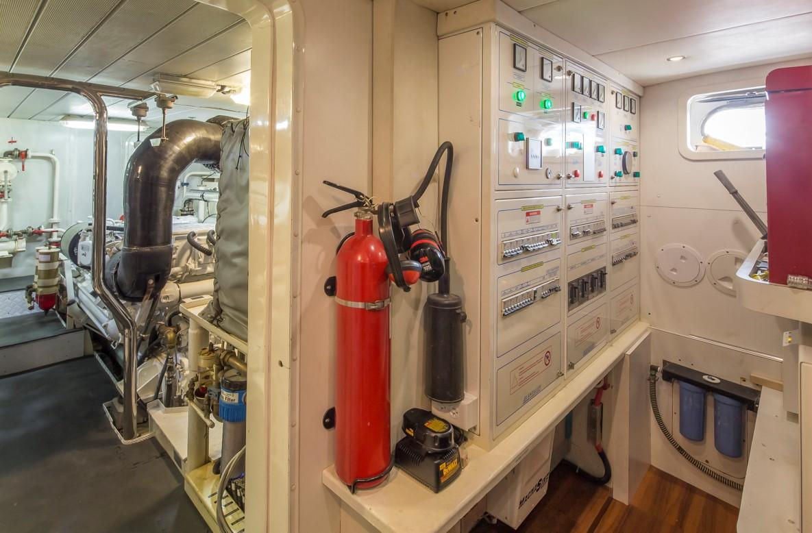 Engine Room Access
