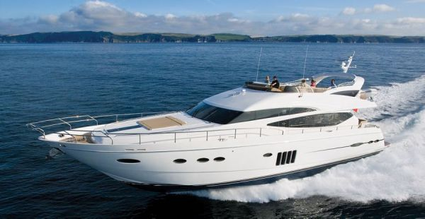 Sister boat with no Fly Princess 78 Motor Yacht