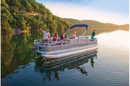 2020 Sun Tracker boat for sale, model of the boat is Fishing Barge 22 XP3 & Image # 1 of 50