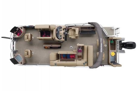 2020 Sun Tracker boat for sale, model of the boat is Fishing Barge 22 XP3 & Image # 37 of 50