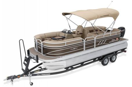 2020 Sun Tracker boat for sale, model of the boat is Party Barge 22 DLX & Image # 10 of 15