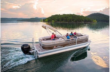 2020 Sun Tracker boat for sale, model of the boat is Party Barge 22 DLX & Image # 14 of 15