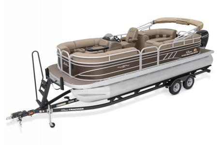 2020 Sun Tracker boat for sale, model of the boat is Party Barge 22 DLX & Image # 8 of 15