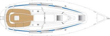Manufacturer Provided Image: Bavaria 32 Deck Layout