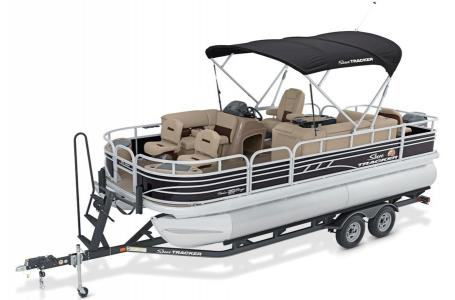 2020 Sun Tracker boat for sale, model of the boat is Fishing Barge 20 DLX & Image # 37 of 48