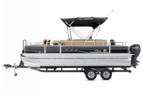 2020 Sun Tracker boat for sale, model of the boat is Fishing Barge 20 DLX & Image # 5 of 48