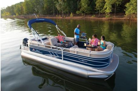 2020 Sun Tracker boat for sale, model of the boat is Party Barge 22 XP3RF & Image # 11 of 13