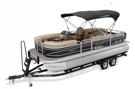 2020 Sun Tracker boat for sale, model of the boat is Party Barge 22 XP3RF & Image # 2 of 13