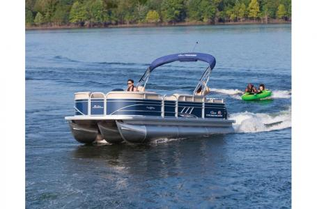 2020 Sun Tracker boat for sale, model of the boat is Party Barge 22 XP3RF & Image # 4 of 13