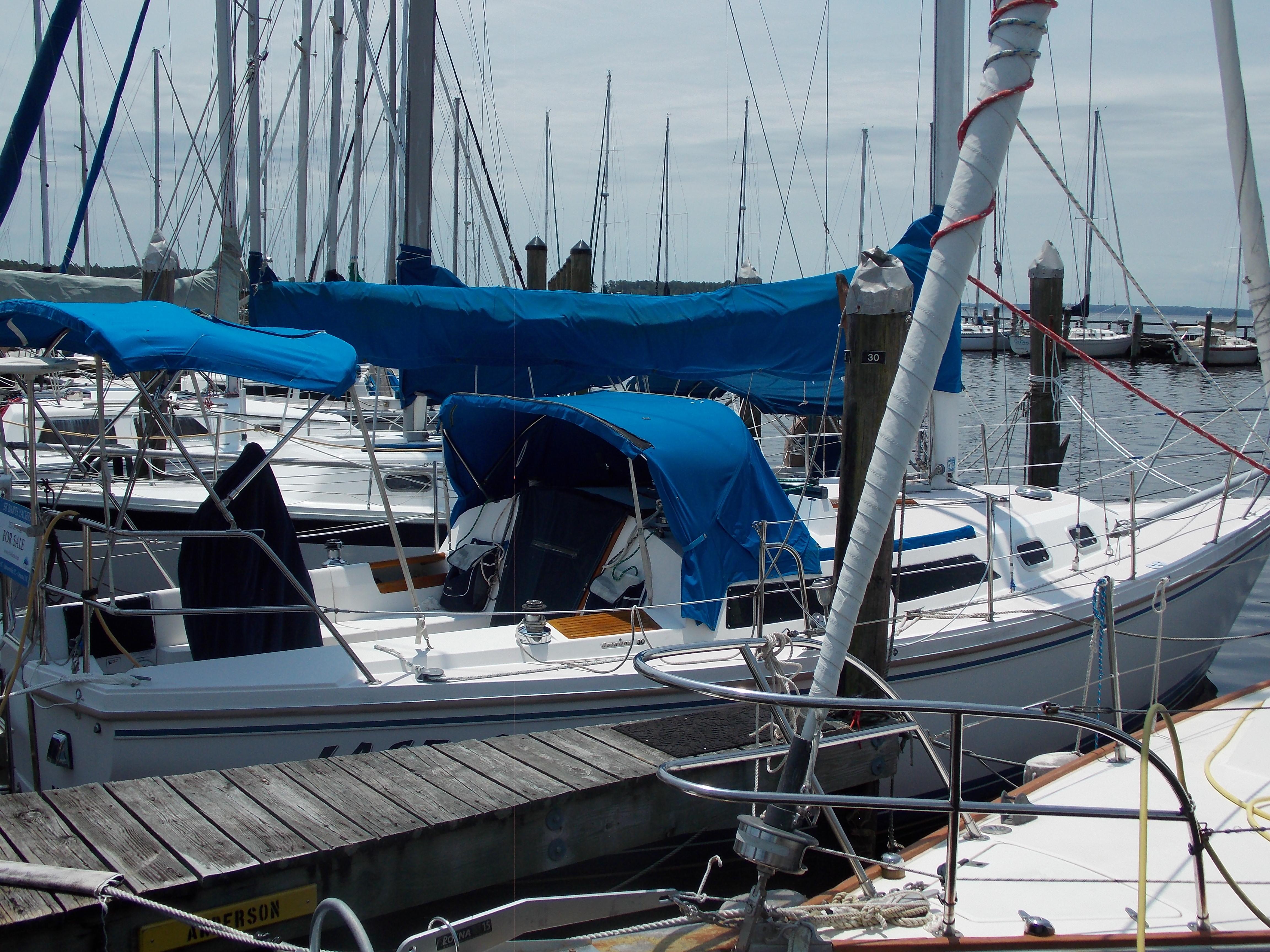 1990, Catalina 30 MkII For Sale, St  Barts Yachts