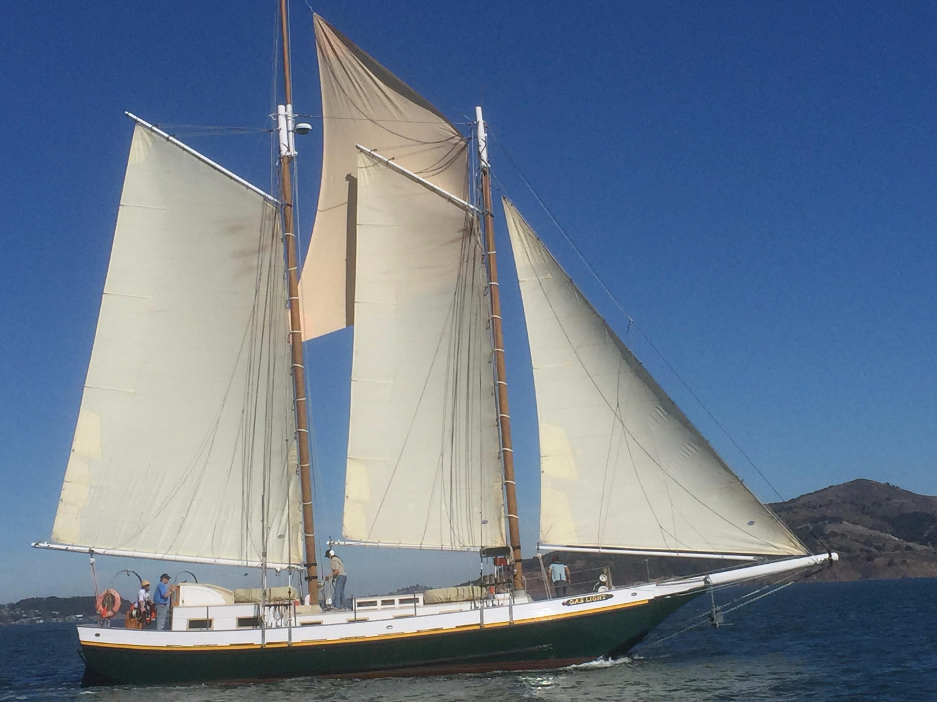 72\' Custom Scow Schooner Yacht For Sale - Rubicon Yachts