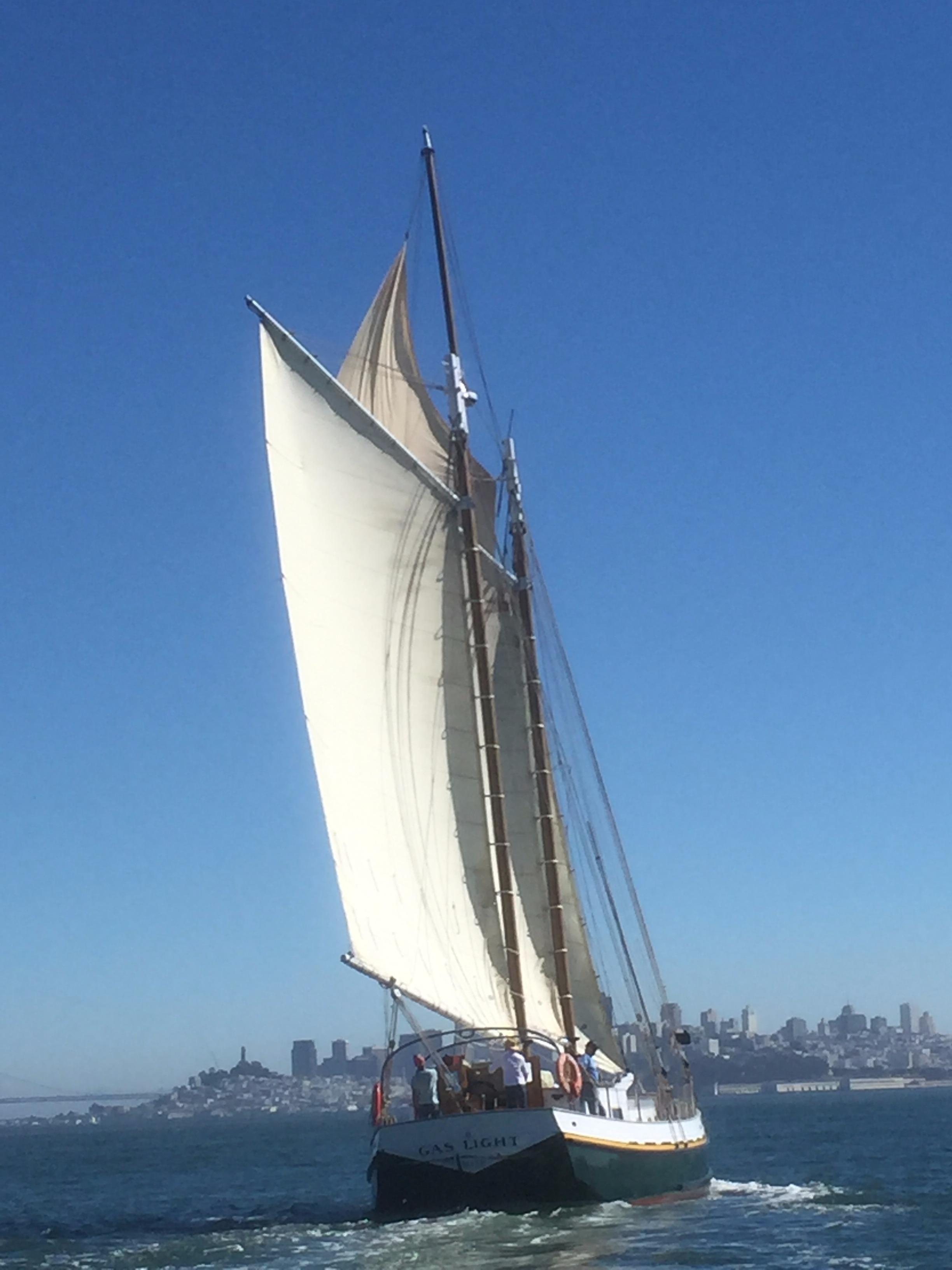 72' Custom Scow Schooner Yacht For Sale - Rubicon Yachts
