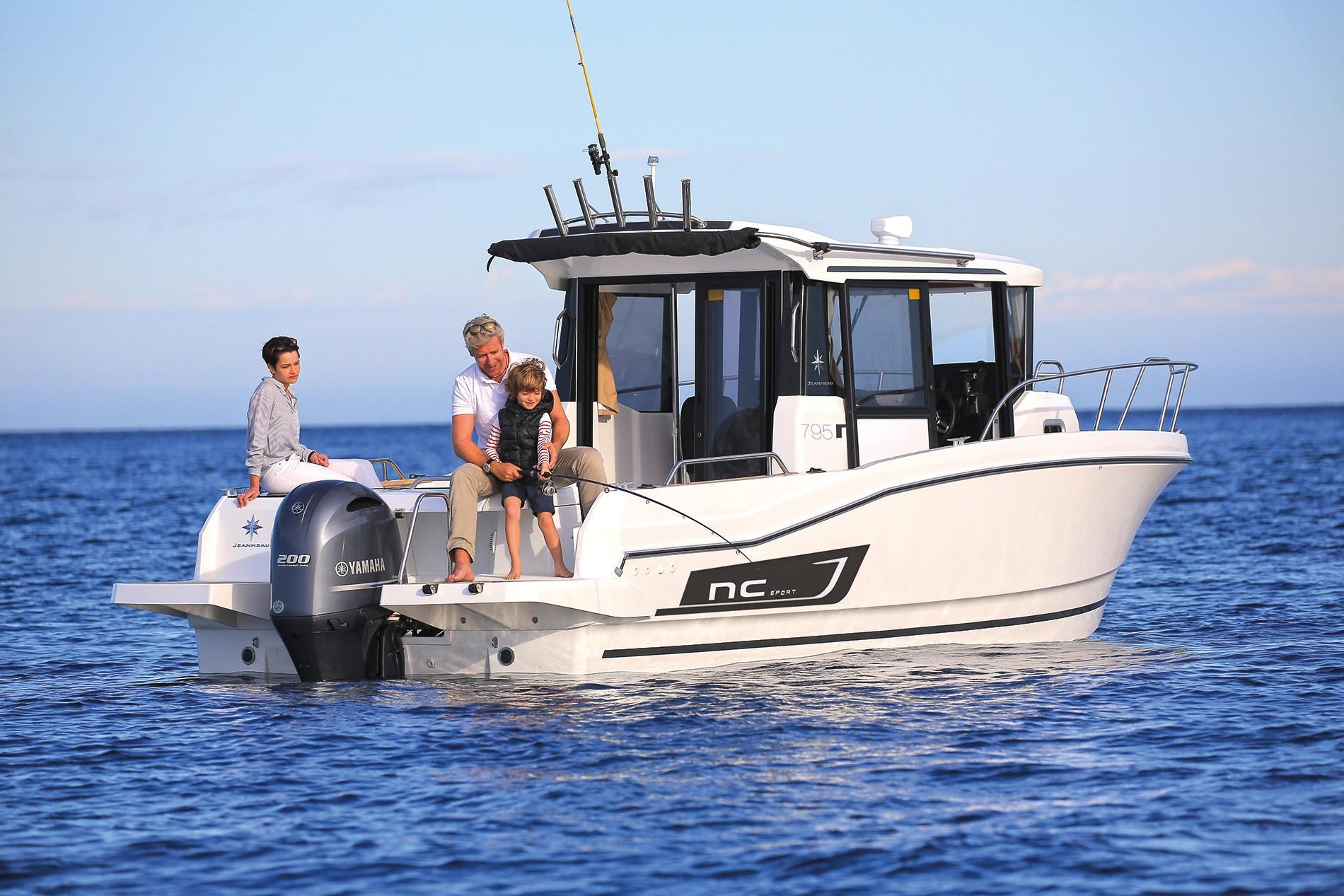 NC 795 Sport Outboard - 50North