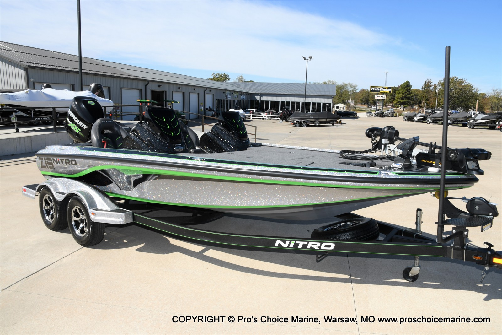 2017 Nitro boat for sale, model of the boat is Z19 & Image # 1 of 50
