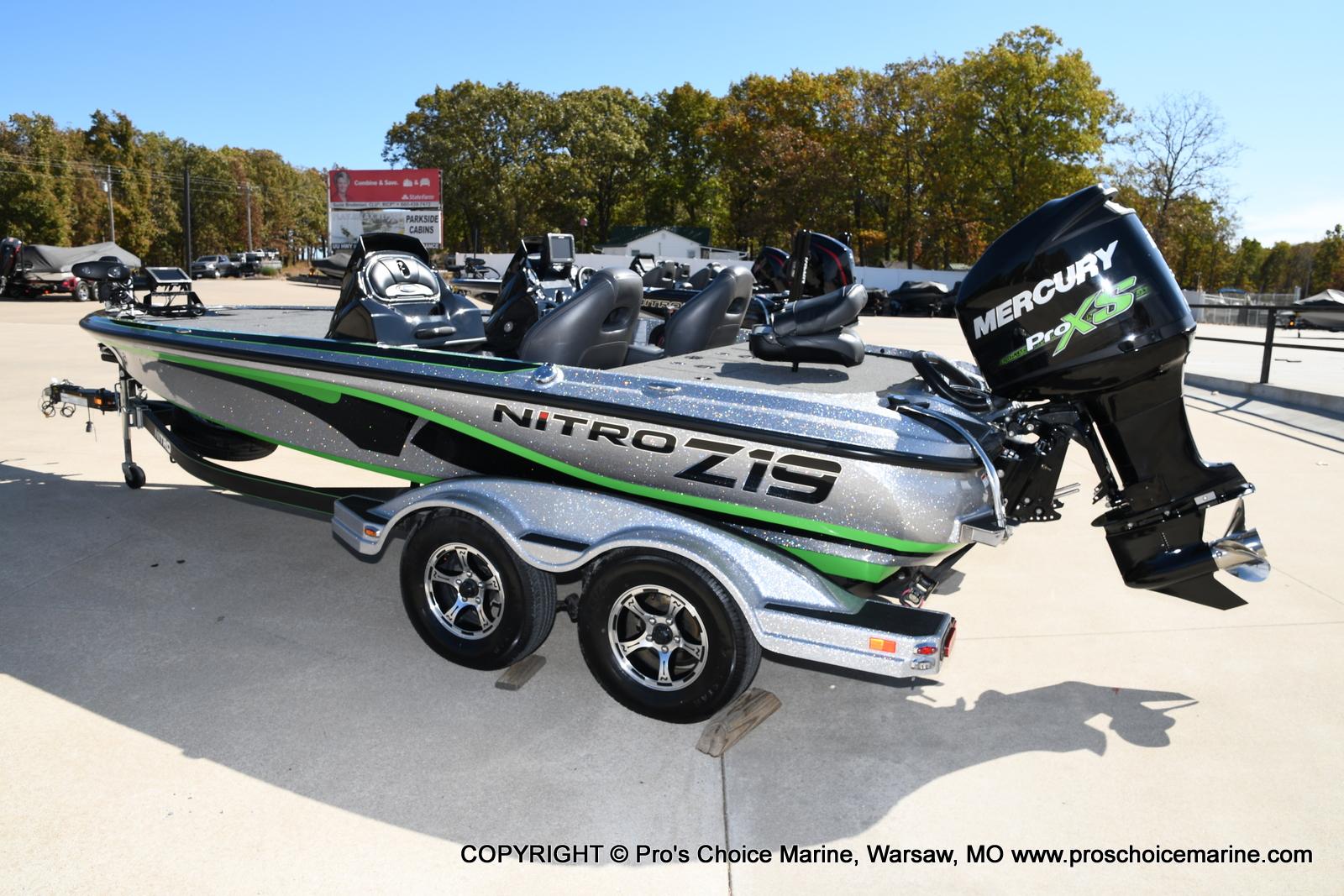 2017 Nitro boat for sale, model of the boat is Z19 & Image # 2 of 50