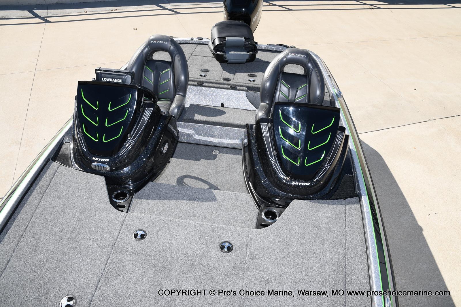 2017 Nitro boat for sale, model of the boat is Z19 & Image # 9 of 50