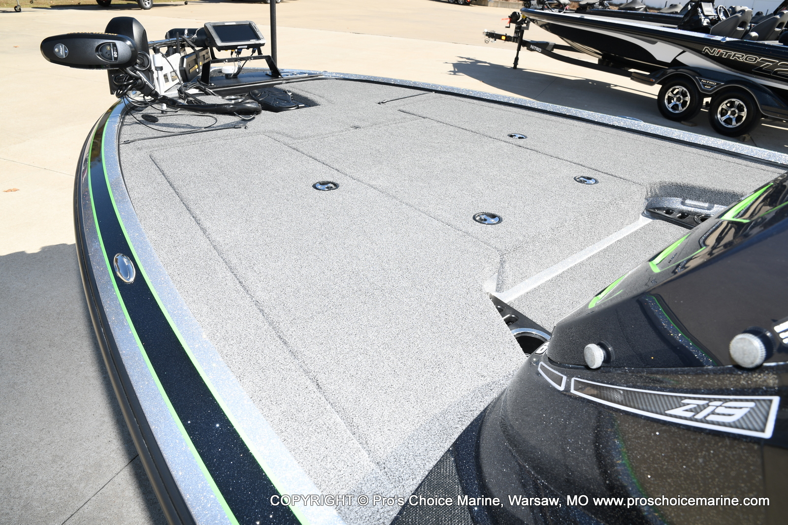 2017 Nitro boat for sale, model of the boat is Z19 & Image # 23 of 50