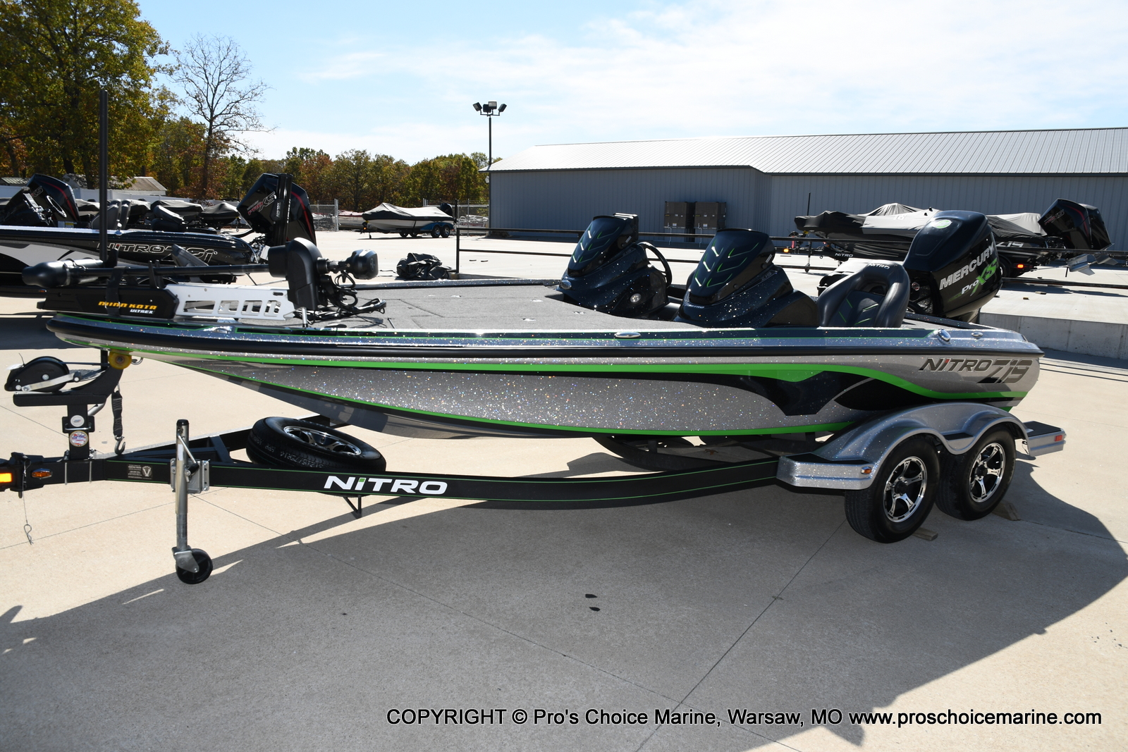 2017 Nitro boat for sale, model of the boat is Z19 & Image # 32 of 50