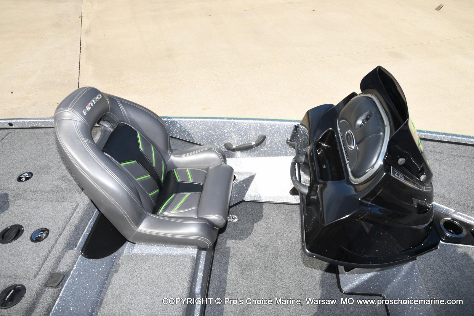 2017 Nitro boat for sale, model of the boat is Z19 & Image # 38 of 50
