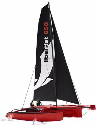 26.25' Rega Yachts 2017 Libertist 850 Trimaran