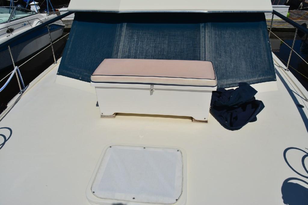 Hatteras 43 Motor Yacht - Bow Storage