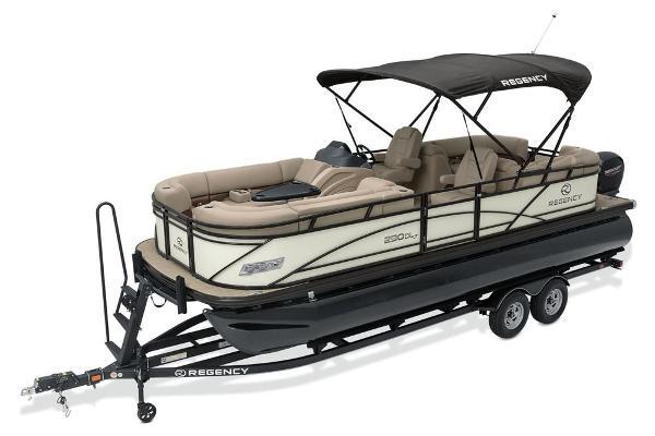 2021 Regency boat for sale, model of the boat is 230 DL3 & Image # 6 of 71