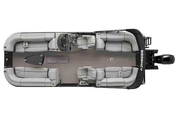 2021 Regency boat for sale, model of the boat is 230 DL3 & Image # 15 of 71