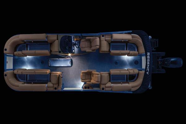 2021 Regency boat for sale, model of the boat is 230 DL3 & Image # 17 of 71