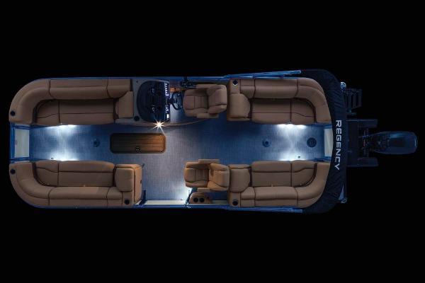 2021 Regency boat for sale, model of the boat is 230 DL3 & Image # 18 of 71